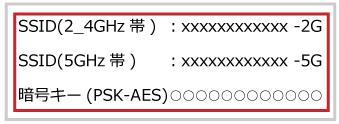 ソフトバンクエアーの周波数帯_2.4GHzと5GHz